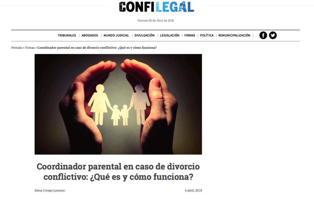 Confilegal Elena Crespo abogada familia