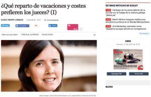 Artículo abogada Elena Crespo elEconomista Iuris&Lex