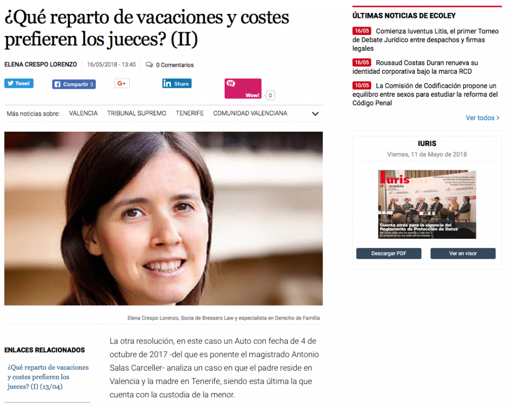 Elena Crespo eleconomista ecoley