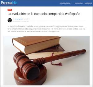 Elena Crespo custodia compartida Prensaaldia