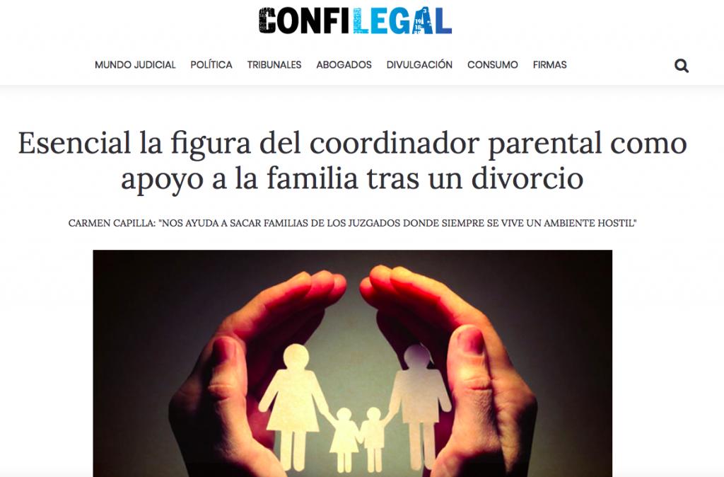Elena Crespo habla para Confilegal sobre el coordinador de parentalidad