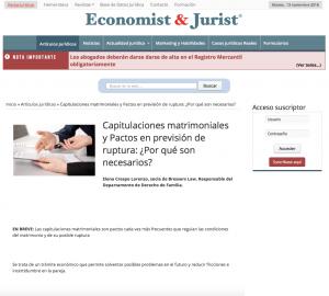 Elena Crespo Economist Jurist capitulaciones matrimoniales