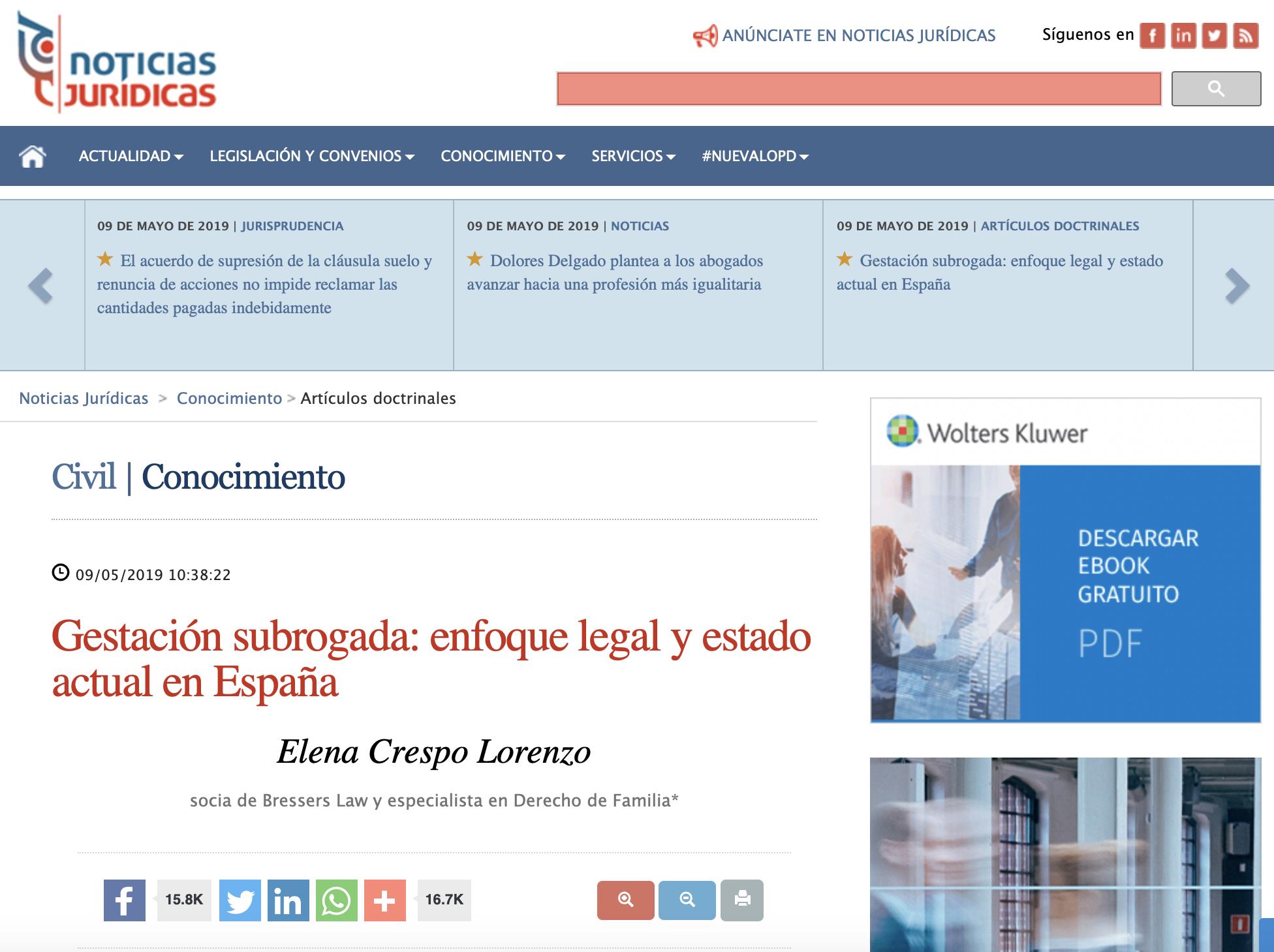 bressers law abogados gestacion subrogada