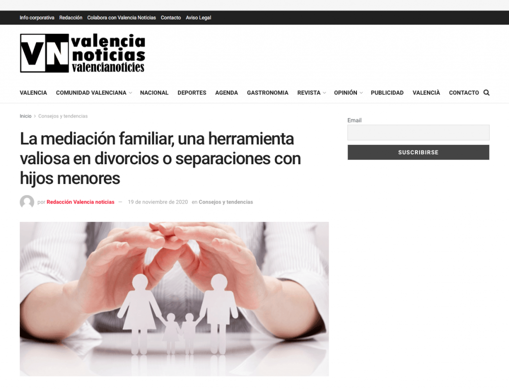 mediacion familiar valencia noticias elena crespo