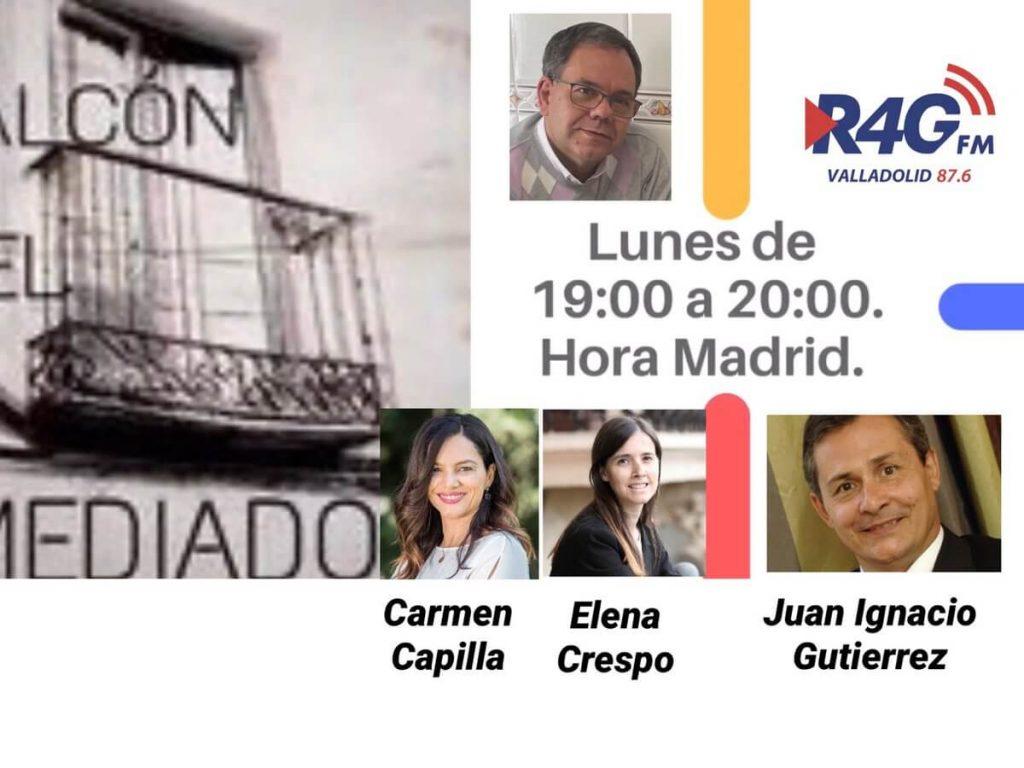Entrevista a Elena Crespo en Radio Valladolid sobre el coordinador parental